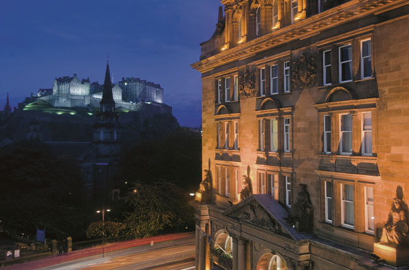 Sean Connery's fave: The Caledonian, Edinburgh