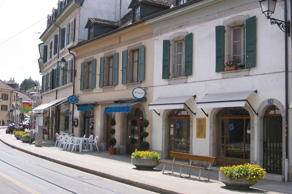 Visit the suburb of Carouge - and its famous chocolate shop!