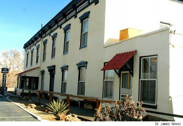 Visit the Wild West'&Acirc;&Acirc;s most haunted hotel