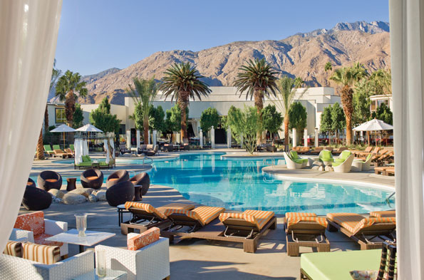 Riviera Palm Springs, California: Sinatra's relaxation zone