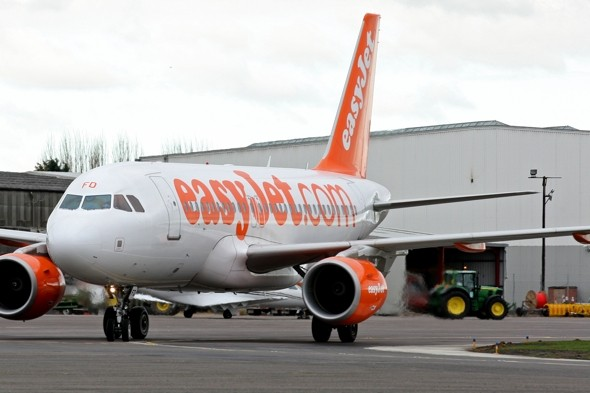 Emergency landing as passenger attacks Easyjet air hostess