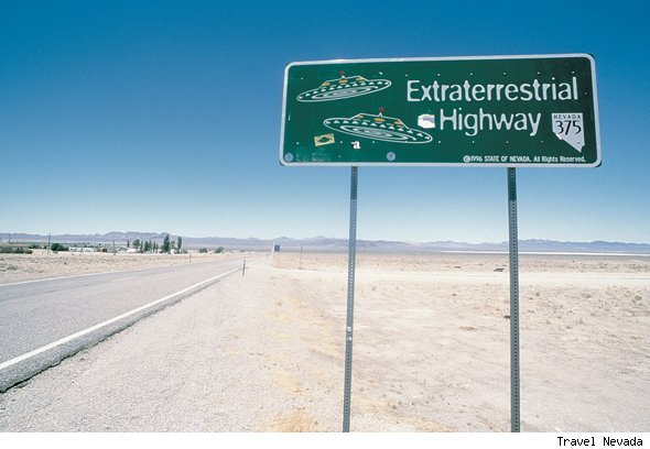 Travel the Extra Terrestrial Highway
