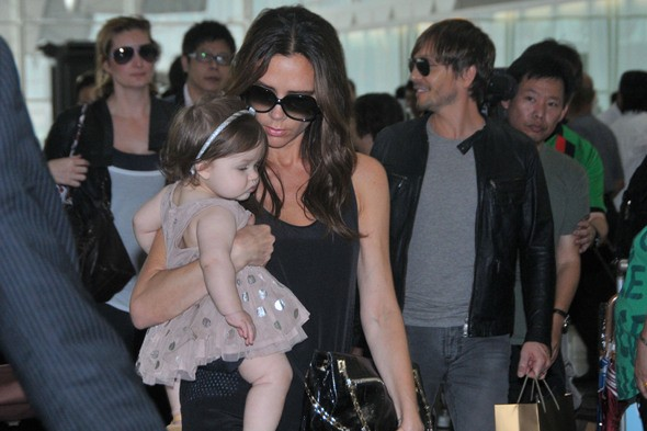 Harper Beckham clocks up 110,403 air miles in a year