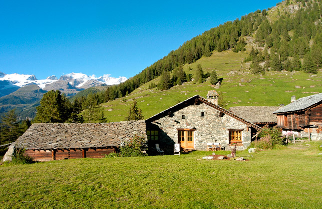 Step back in time in the Italian Alps