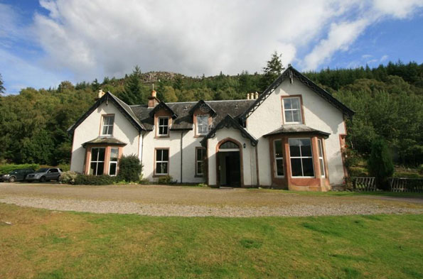 Large Country House in the Scottish Highlands for £128