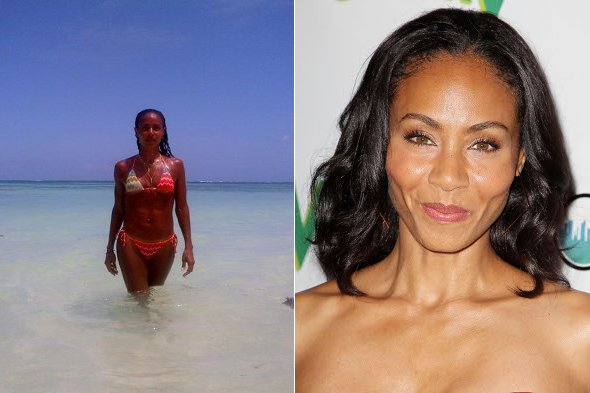 Jada Pinkett Smith tweets picture of her bikini body