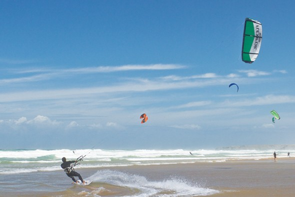 Learn to kite surf