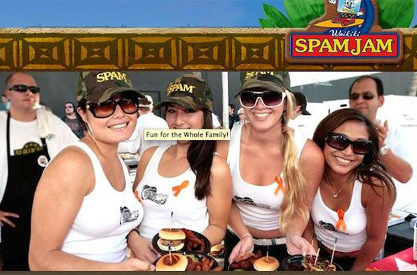 Spam Jam, Hawaii