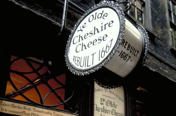 Olde Cheshire Cheese, London