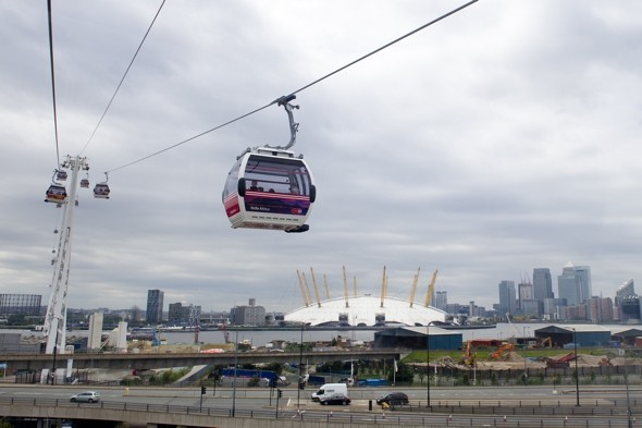London Olympics cable car 'heat' breakdown leaves dozens stranded at 300ft