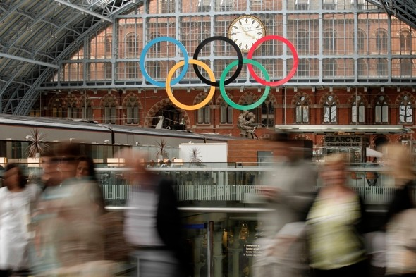 Olympics rail security poster gaffe as Arabic version 'gibberish'