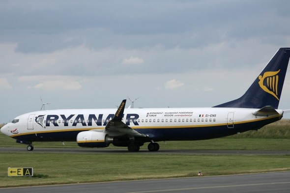 Ryanair bans off-duty policeman for life after 'boarding plane with gun'