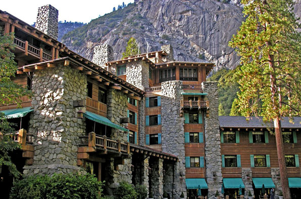 Ginger Rogers' hideaway: The Ahwahnee, Yosemite National Park, California