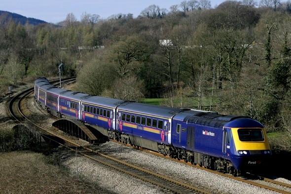 Train driver narrowly misses two children 'having picnic' on railway