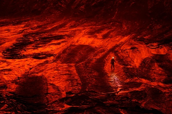 Photographer endures temps of 2,000F to capture world's most dangerous volcanoes