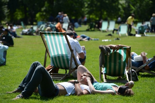 Hottest day of the year to hit  Britain this week