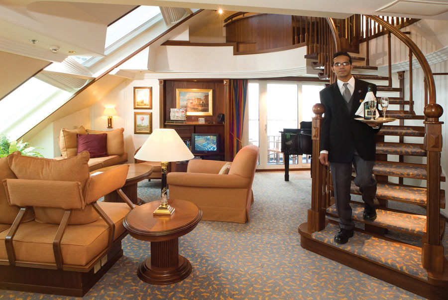 Play a grand piano in your own suite