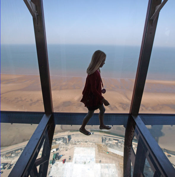 Take three... glass-bottomed viewing platforms