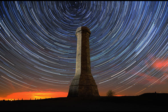 The Hardy monument, near Dorchester, Dorset