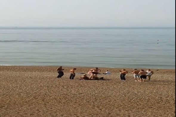 Police arrest couple having sex on Brighton Beach in broad daylight