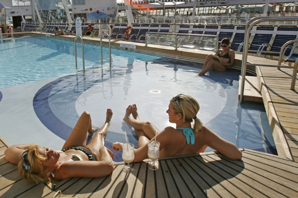 No chair hogging! Cruise firm bans passengers from 'saving' sun loungers