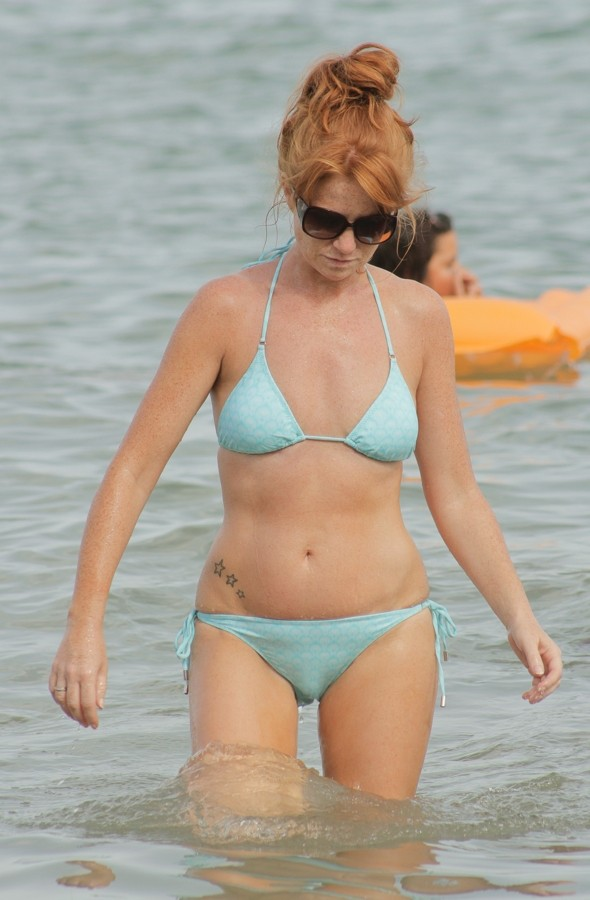 Patsy Palmer shows off brilliant bikini body on family holiday in Ibiza