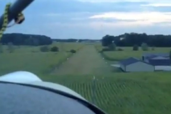Watch: Cockpit camera captures plane crash with 84-year-old pilot