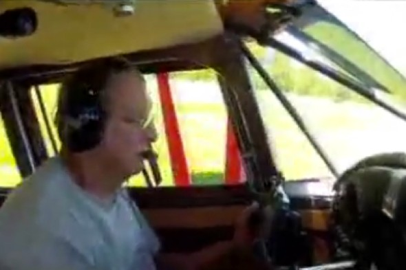 Watch: Terrifying plane crash captured on video from inside cockpit