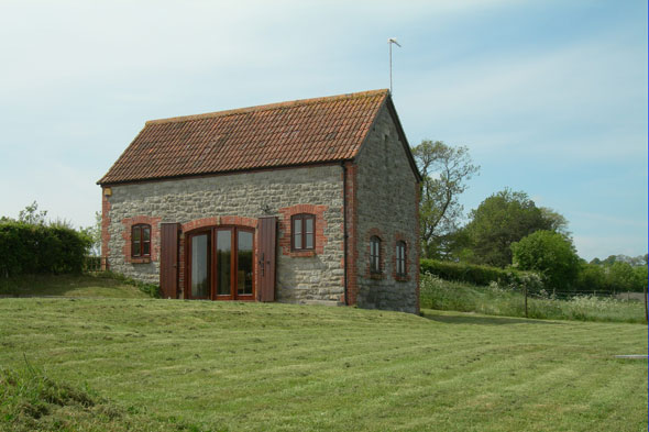 A converted barn in Somerset