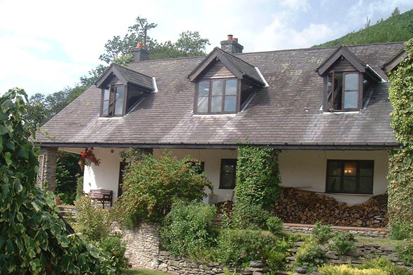 A stone cottage in North Wales