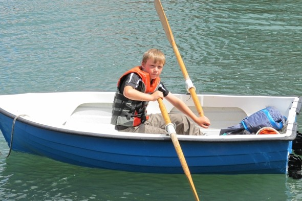 British boy, 10, rescues couple stranded at sea in Devon