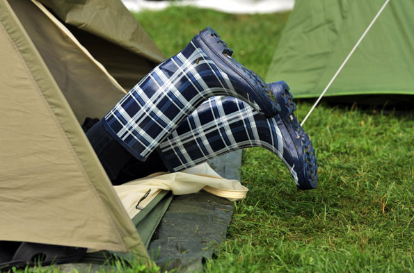 Top tips for happy camping