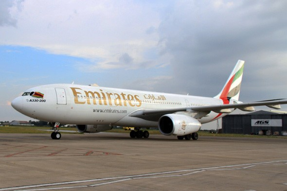 Baby born in Emirates plane toilet named after flight number