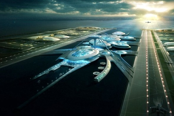 Space station or airport? Arhitects reveal futuristic plans for 'Boris Island'