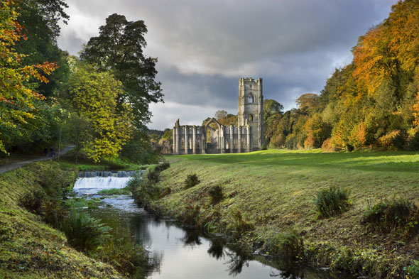 Fountains Abbey and Studley Royal, Yorkshire