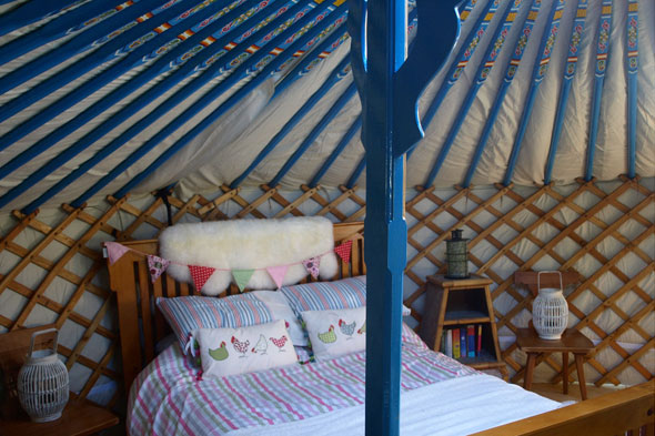 Snooze a weekend away in a belle tent in Ireland