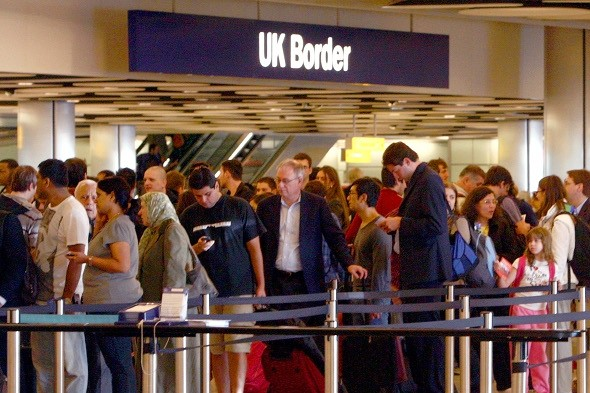 Passengers face four-hour queues at Heathrow Airport