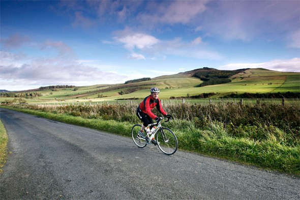 cycling holidays, cycle routes in scotland, scottish borders cycling, active breaks in britain
