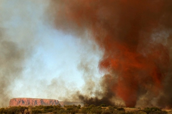 Watch: Terrifying fire tornado rips through Australian Outback for 40 minutes
