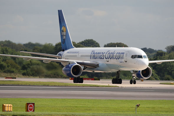 Thomas Cook flight grounded due to staffing issues