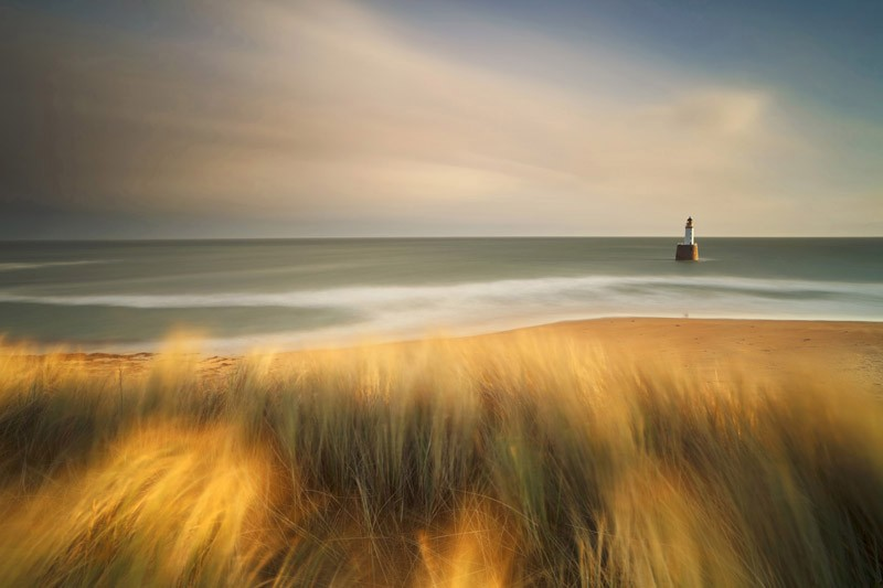 Rattray Head in Winter, Aberdeenshire, Scotland (Commended)