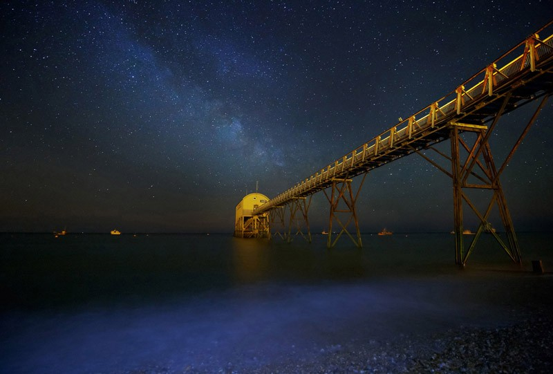 The Summer Milky Way, Selsey Bill, West Sussex (Commended)