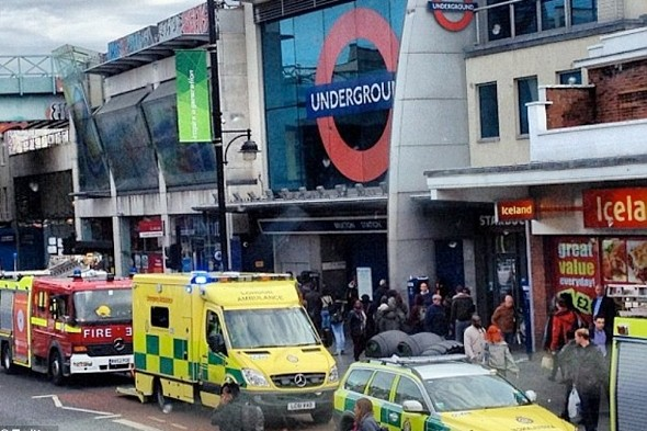 Girl, 12, struck by Tube at Brixton in front of horrified commuters