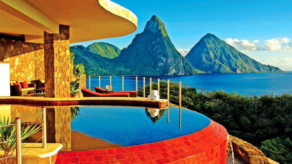 Jade Mountain, St Lucia, Caribbean