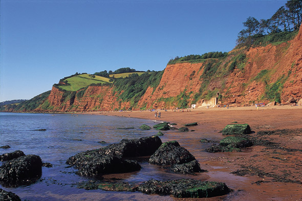 Anyone want to hire an entire beach in Devon?