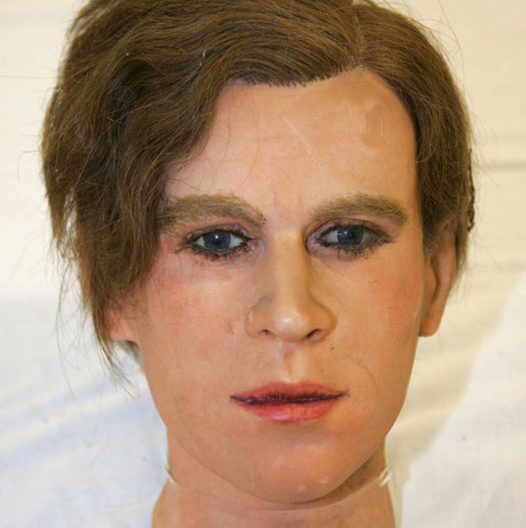 Recognise this right royal waxwork?