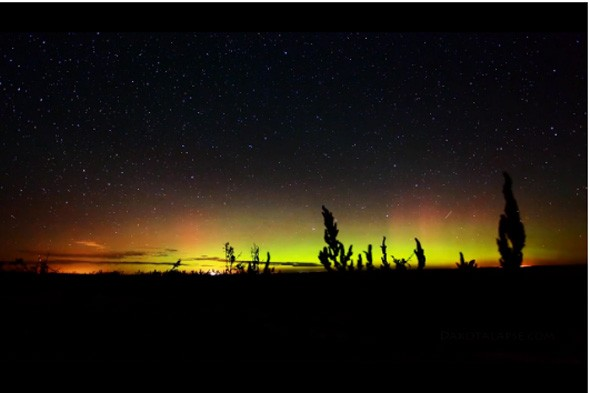 Amazing video of the Northern Lights and Milky Way night sky