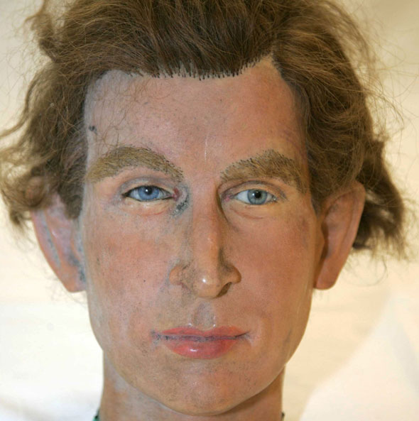 Another dodgy royal waxwork. Who's it meant to be?