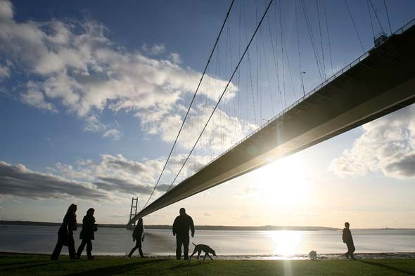2. The Humber Bridge, Kingston upon Hull