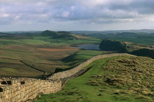Travelling to Hadrian's Wall Country without using a motorway